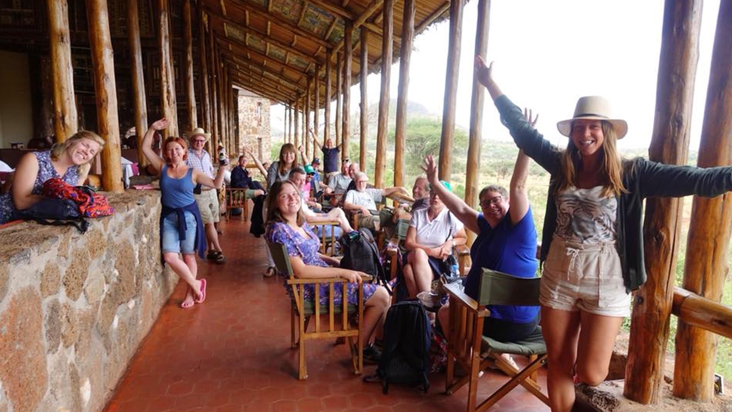 Visitando el parque nacional de Tsavo