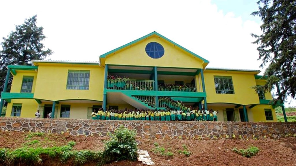 One of Child Africa's schools in Kabale, Uganda, which was built with support from donation packages. Opened 2016.