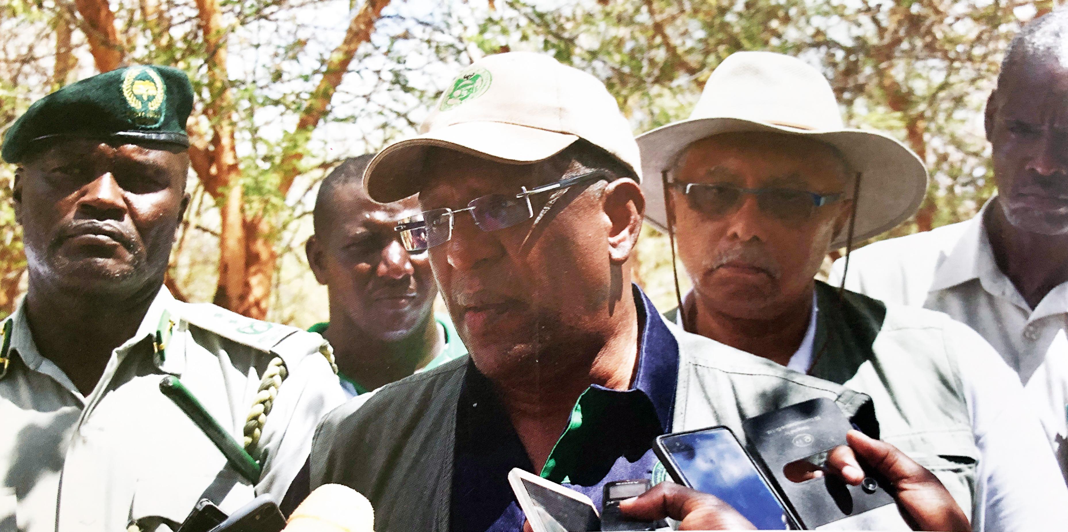 VIP visit to Kiambere
